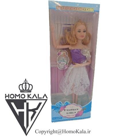 عروسک باربی مفصلی کد 005
