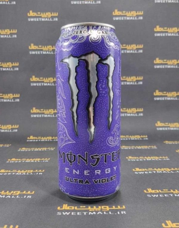 تصویر نوشیدنی انرژی زا مانستر 500 میلی لیترMonster-نوشیدنی انرژی زا مانستر مدل Ultra Violet(بنفش)