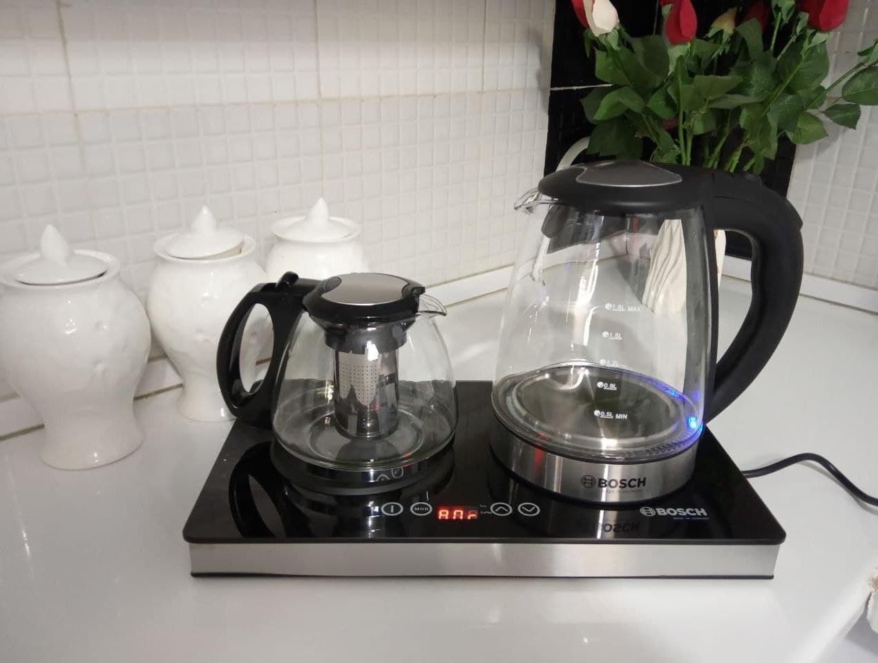 تصویر چای ساز لمسی بوش آلمان(اورجینال) مدل:bs_2618