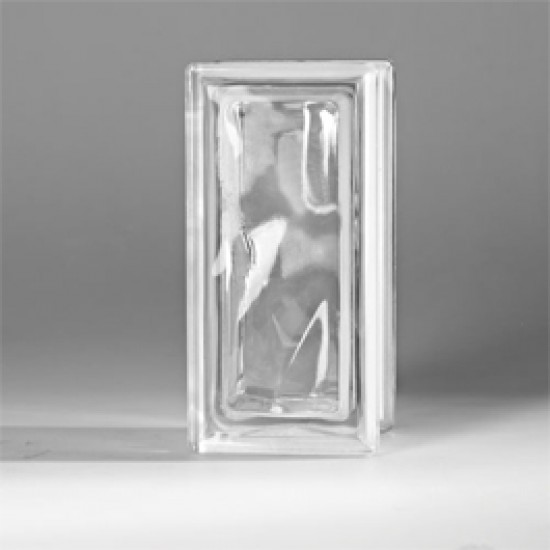 تصویر بلوک شیشه ای کاوه مدل نیمه کلودی