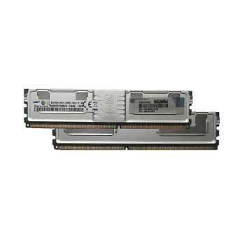 تصویر رم دسکتاپ DDR2 یک کاناله 667 مگاهرتز Fully Buffered  اچ پی مدل PC2-5300 ظرفیت 4 گیگابایت HP 4GB Fully Buffered DIMM PC2-5300 2x2GB DDR2 Memory Kit