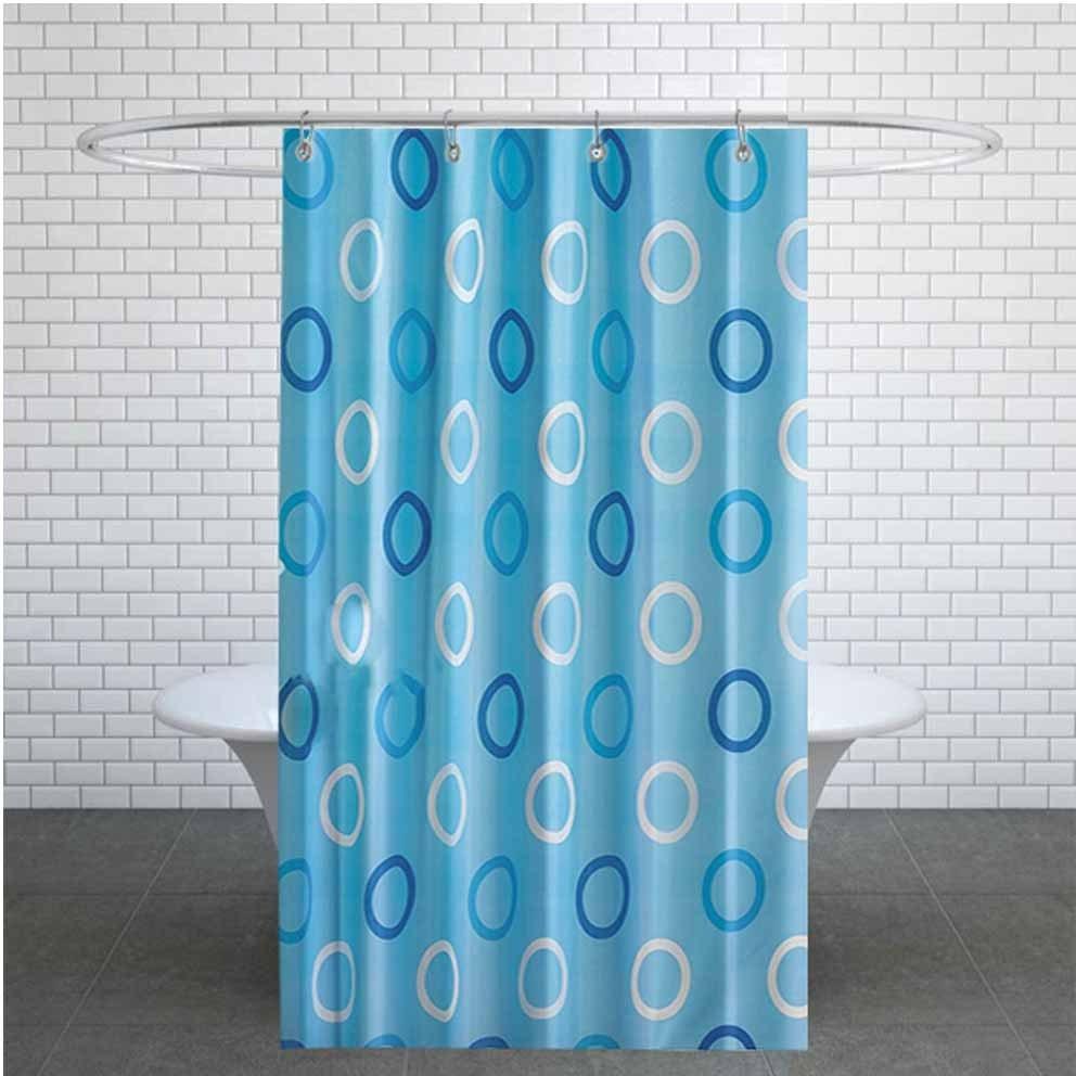 تصویر پرده حمام دلفین کد TOR- 5033 سایز 200×180 سانتی متر
