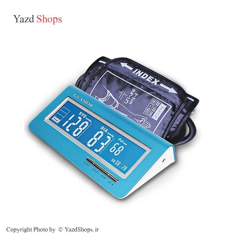 main images فشارسنج بازویی گلامور مدل TMB-1018 Glamor TMB-1018 Digital Blood Pressure Monitor