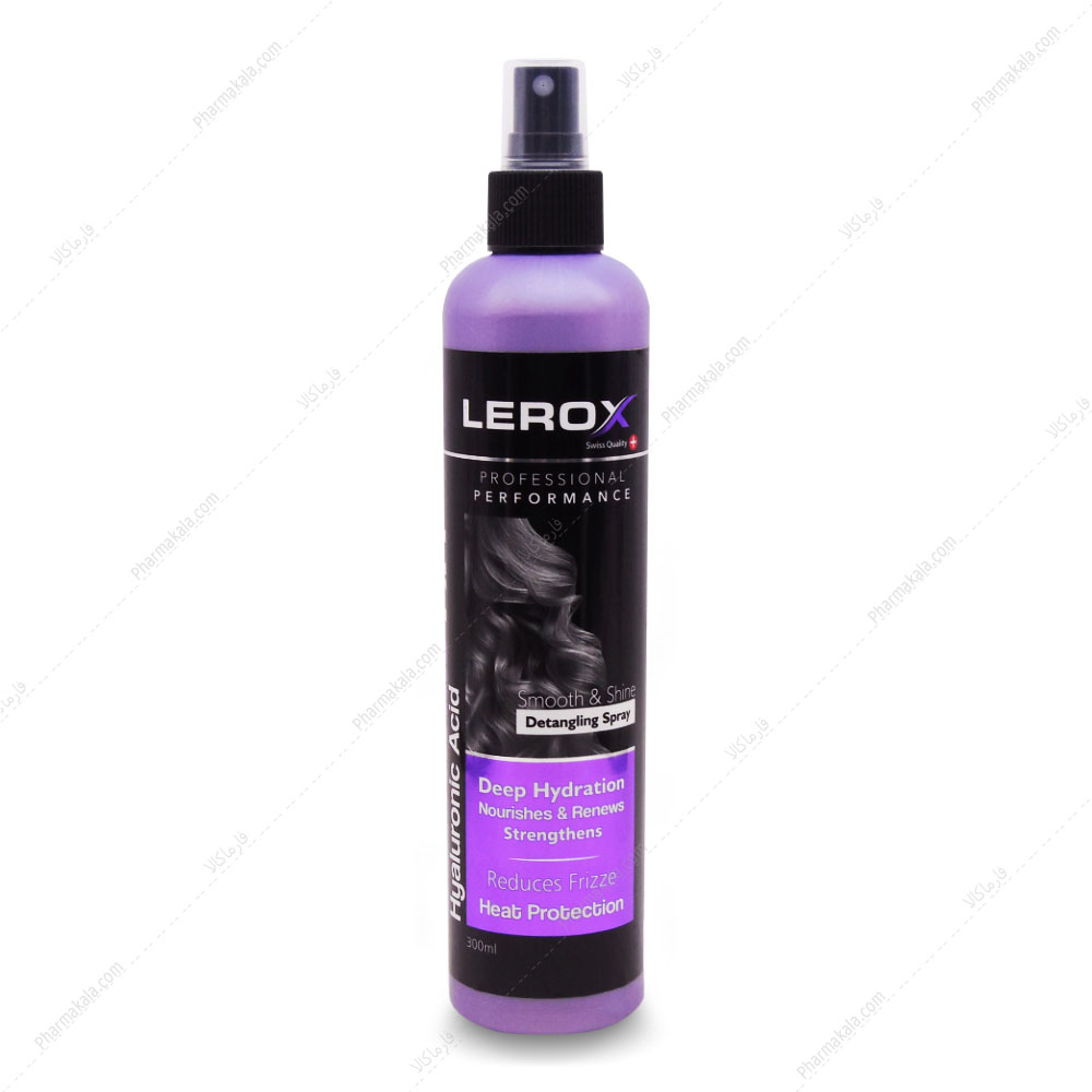 تصویر اسپری نرم کننده و ضد وز مو BEAUTIFIRE انواع مو لروکس 300ml