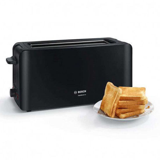 تصویر توستر بوش مدل TAT6A003 با توان ۱۰۹۰ وات Bosch toaster model TAT6A003 with 1090 watts of power