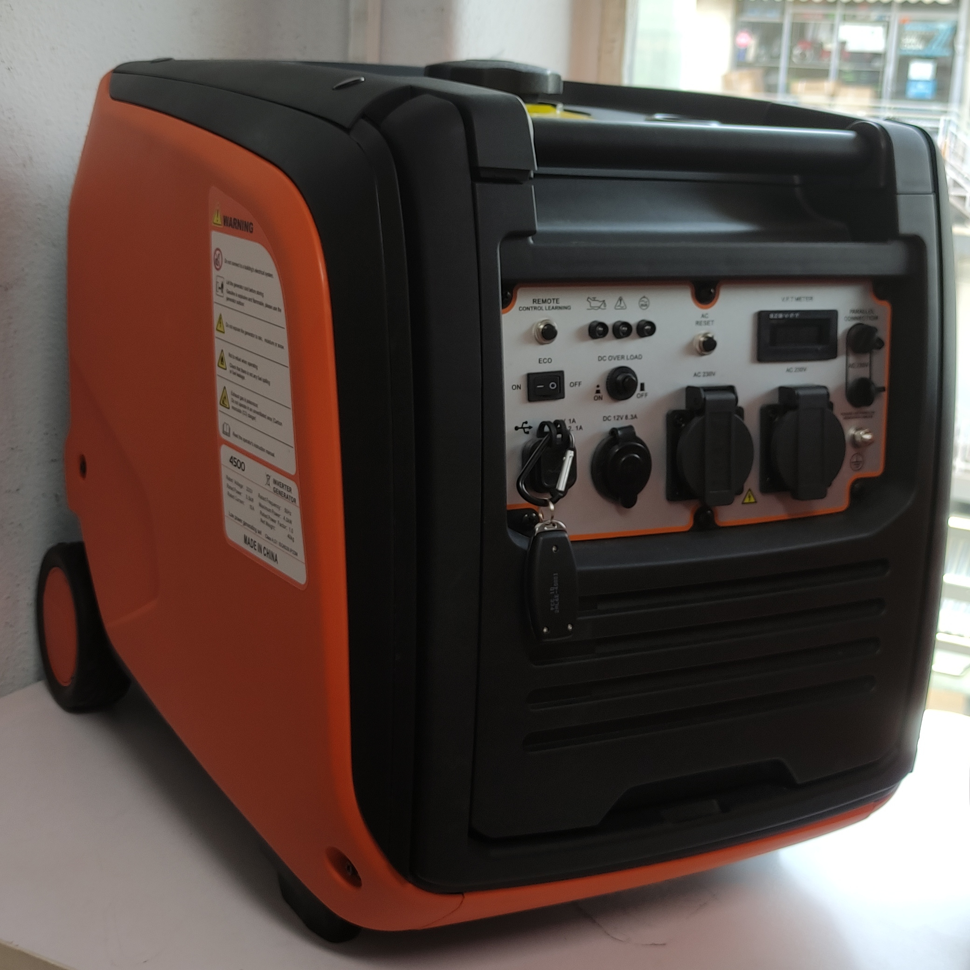 تصویر موتور برق سایلنت زیپکو کره 4کیلو وات Zipcko