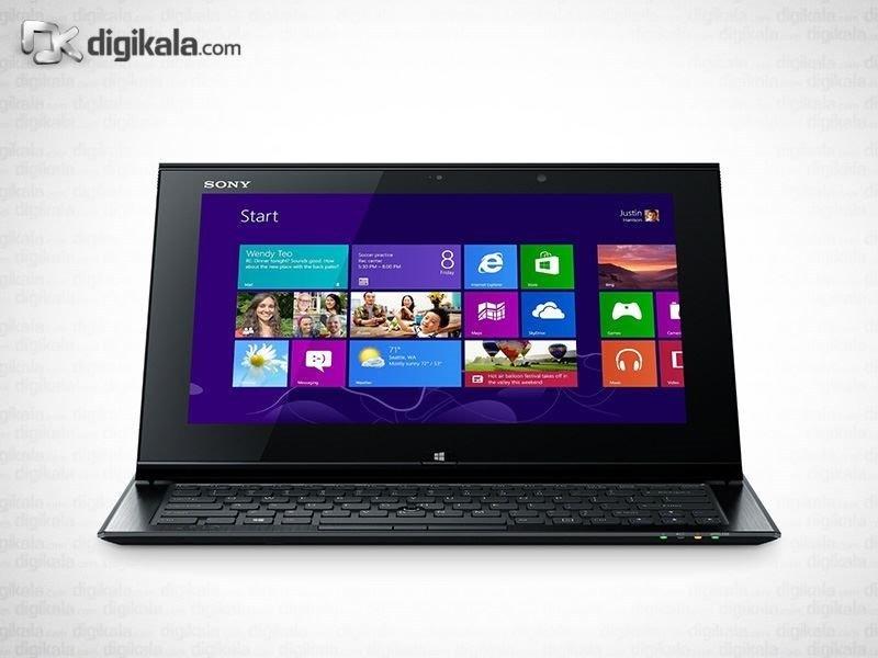 img لپ تاپ ۱۱ اینچ سونی VAIO Duo 11 SVD11215CDB Sony VAIO Duo 11 SVD11215CDB | 11 inch | Core i5 | 8GB | 128GB