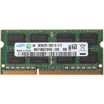 رم لپ تاپ DDR3 تک کاناله 1333 مگاهرتز 10600s سامسونگ مدل CH9 ظرفیت 2 گیگابایت |