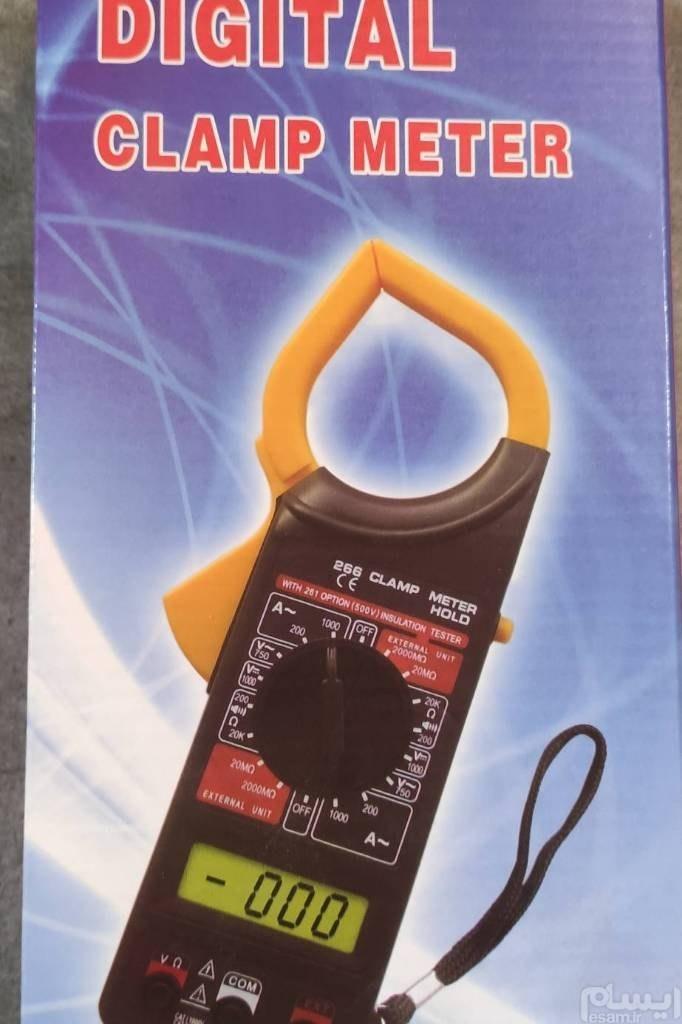 تصویر کلمپ آمپرمتر 1000 آمپر مدل DT-266 Digital Clamp Multimeter DT-266