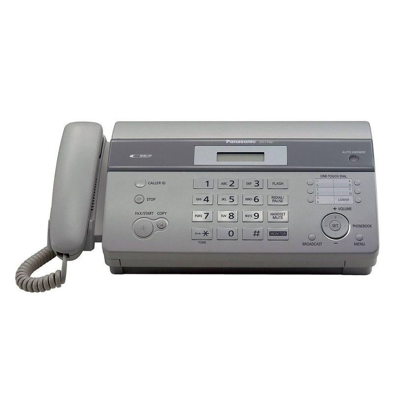 تصویر دستگاه فکس حرارتی مدلKX-FT 981 پاناسونیک Panasonic KX-FT 981 thermal fax machine