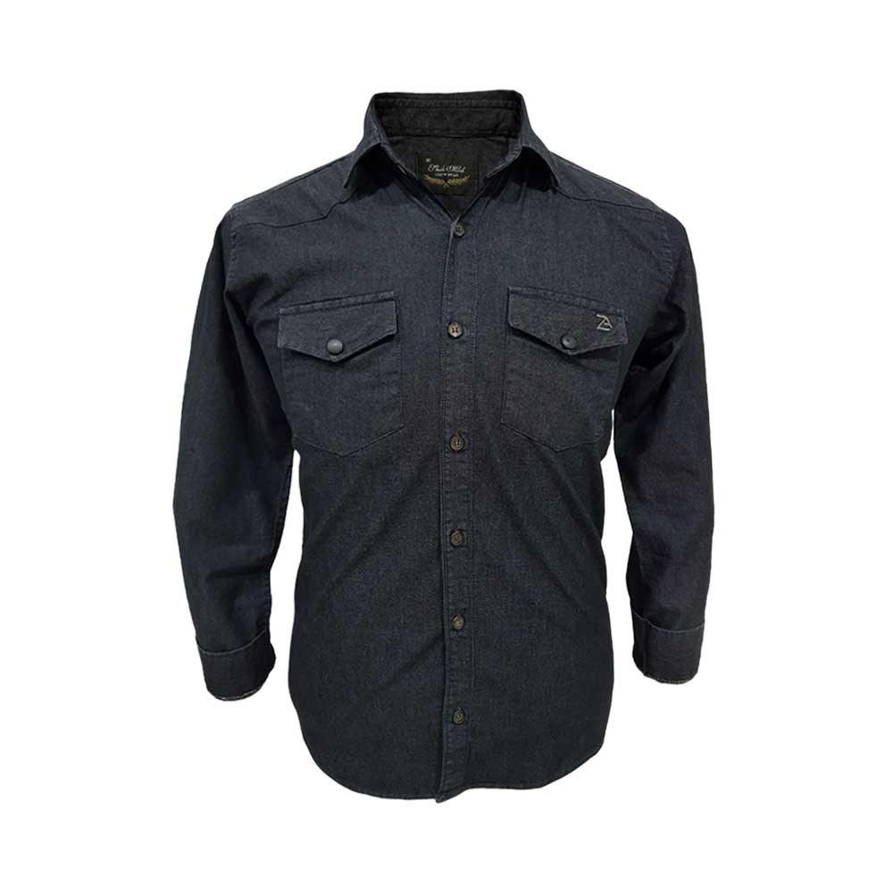 تصویر پیراهن کتان دو جیب 124098-10