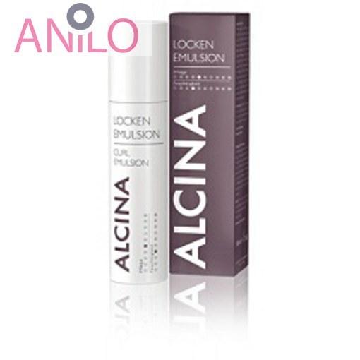 امولسیون آلسینا مناسب موهای فر و مجعد CURL EMULSION ، حجم 100 میل