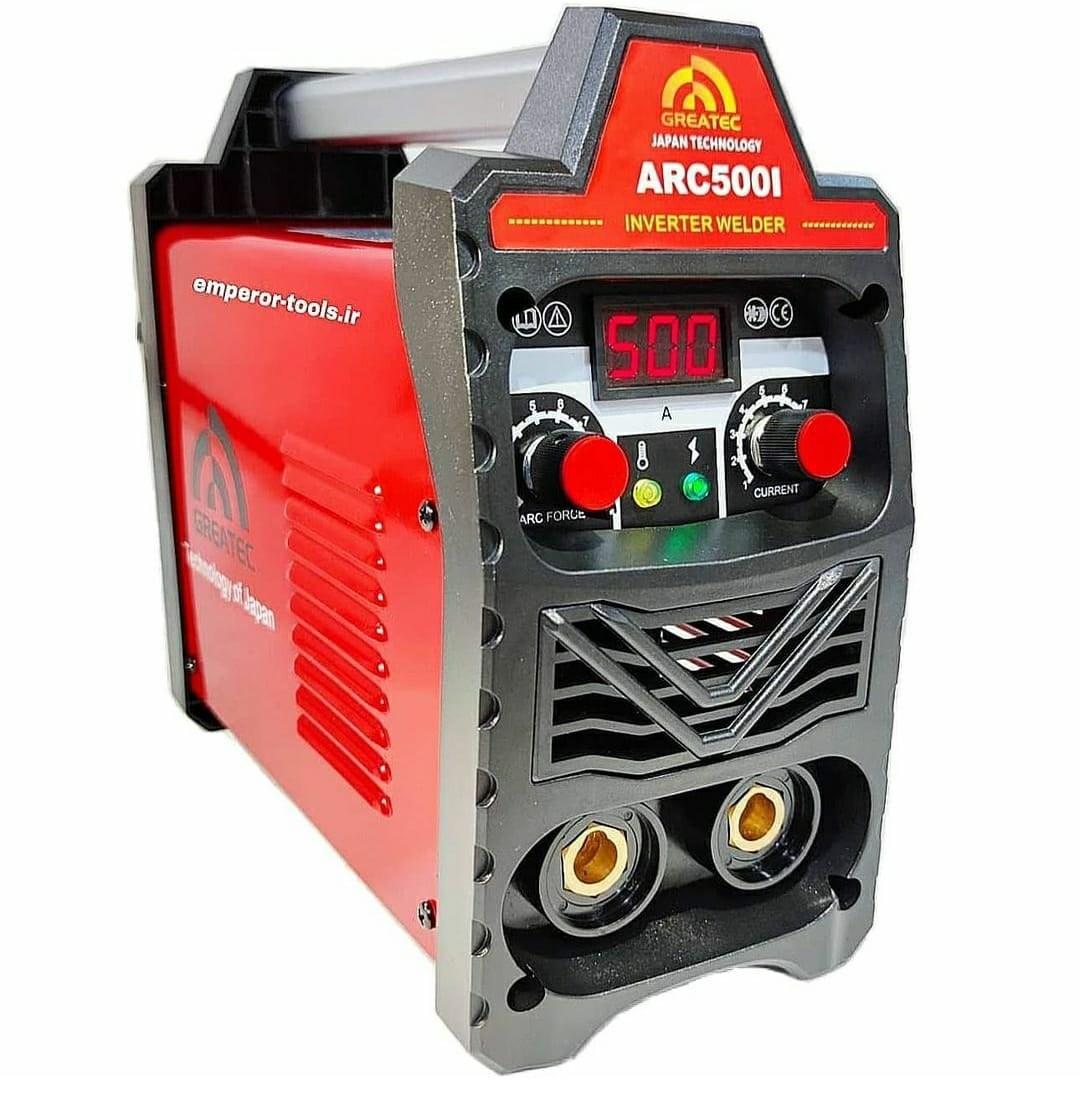 تصویر دستگاه جوش اینورتر 500 آمپر گریتک مدل َARC500I ا GREATEC 500 Inverter Welder GREATEC 500 Inverter Welder