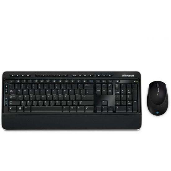 تصویر کیبورد و ماوس بیسیم مایکروسافت مدل Desktop 3000 Microsoft Desktop 3000 Wireless Keyboard and Mouse
