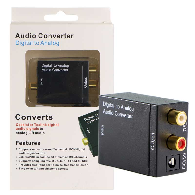 عکس مبدل Digital to Analog صدا Digital To Analog Audio Converter مبدل-digital-to-analog-صدا