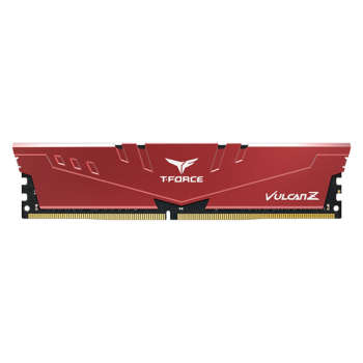 رم کامپیوتر DDR4 تک کاناله 3000 مگاهرتز CL16 تیم گروپ مدل VULCAN Z Gaming ظرفیت 8 گیگابایت | Team Group VULCANZ DDR4 3000MHz CL16 SINGEL  Desktop RAM - 8GB