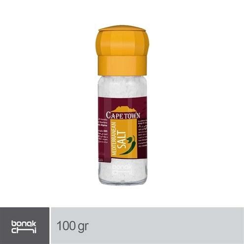 تصویر نمک سفید درشت مدیترانه کیپ تاون - 100 گرمی Cape Town Mediterranean Salt - 100 gr