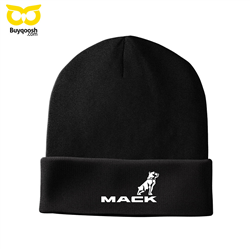 تصویر کلاه بافت زمستانی ماک