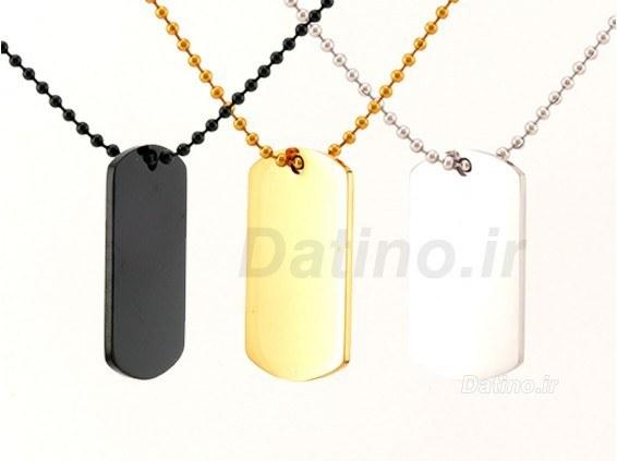گردنبند مردانه پلاک سربازی-Xiaonuo.N.20 |