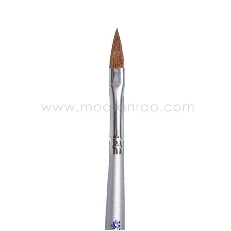 قلم موی ناخن اشکی مناسب کاشت پودر گراف سایز 6   Graph Acrylic Nail Brush 6