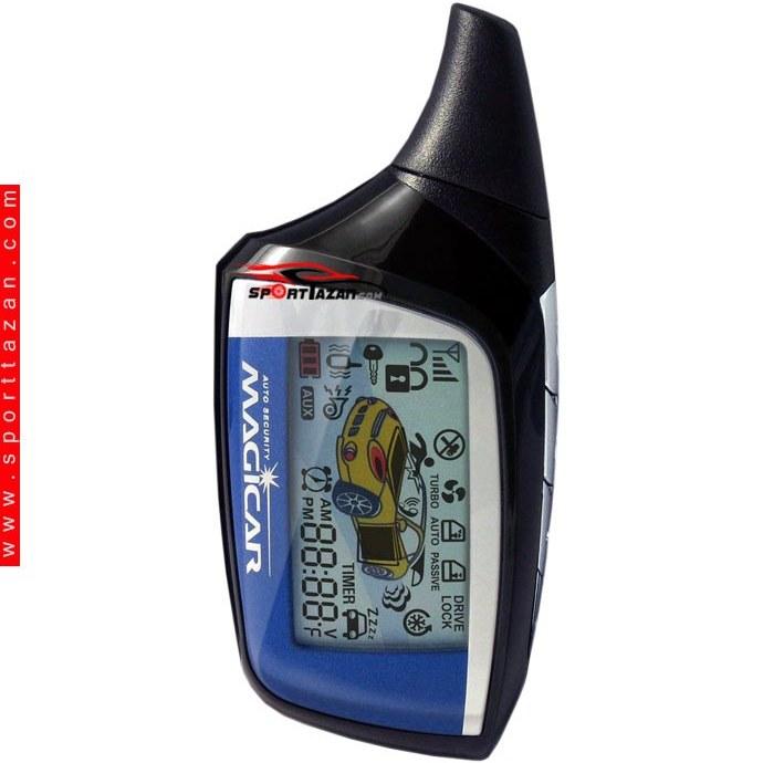 تصویر دزدگیر تصویری ماجیکار مدل M120A Magicar Car alarm M120A