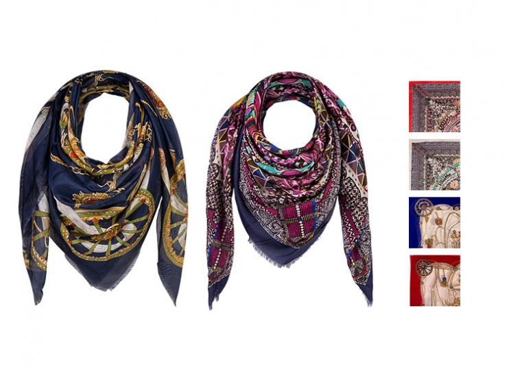 دو مدل روسری قواره دار