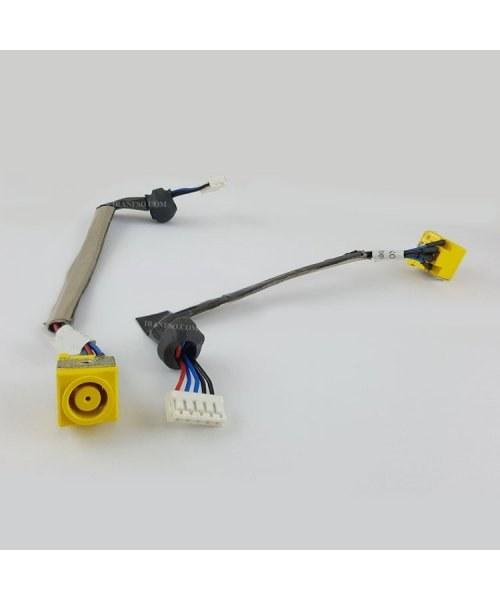 تصویر جک برق لپ تاپ لنوو ThinkPad T61-FS071 با کابل