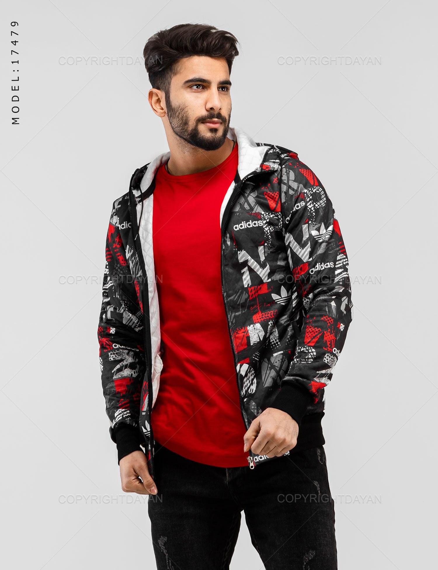 تصویر سویشرت مردانه Adidas مدل 17479