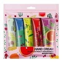 تصویر پک 5 عددی کرم های مرطوب کننده دست با رایحه های متفاوتبیوآکوا ا Bioaqua Hand Cream Pack Of 5 Bioaqua Hand Cream Pack Of 5
