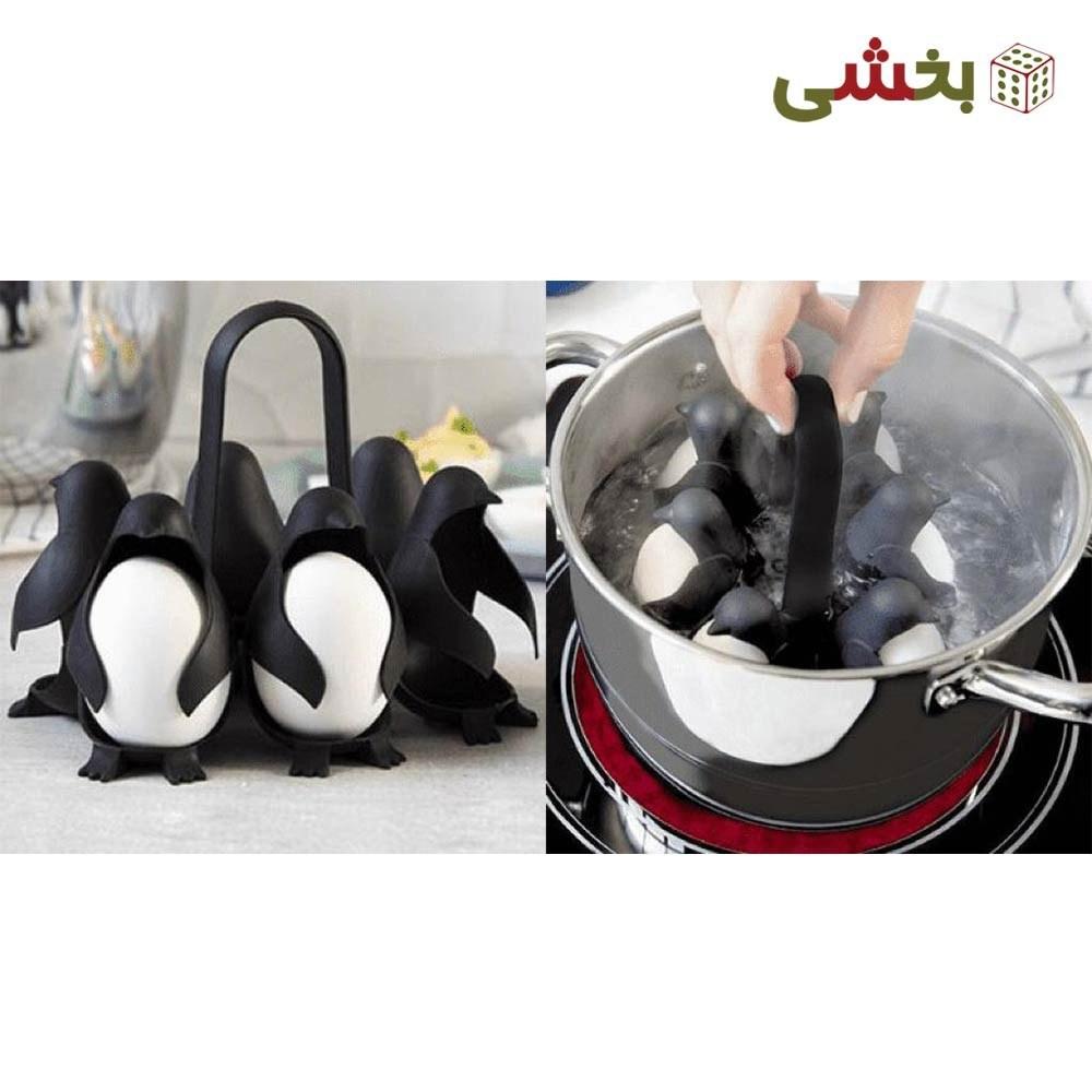 تصویر نگهدارنده تخم مرغ مدل پنگوئن