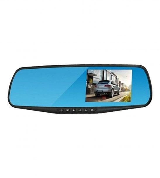 آینه مانیتور دار با دوربین جلو و دنده عقب خودرو برند رویال مدل DVR