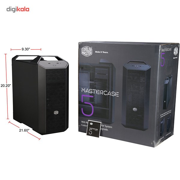 تصویر کیس کولر مستر MasterCase 5 Cooler Master MasterCase 5 Case