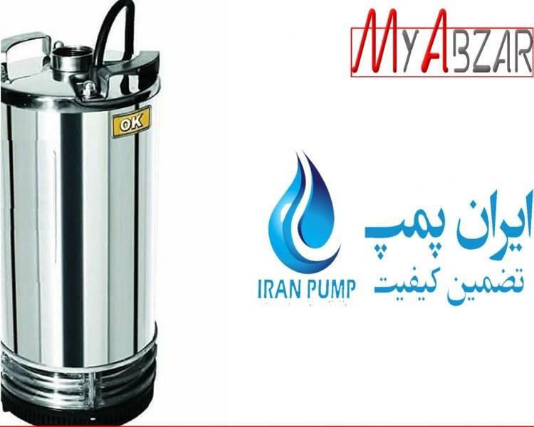 تصویر پمپ کفکش ایران پمپ 2 اینچ مدل NCH 18.6.1