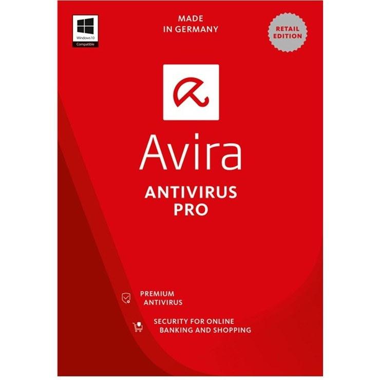 تصویر آنتی ویروس اورجینال Avira Internet Security Suite 2018 1 User Avira Internet Security Suite 2020