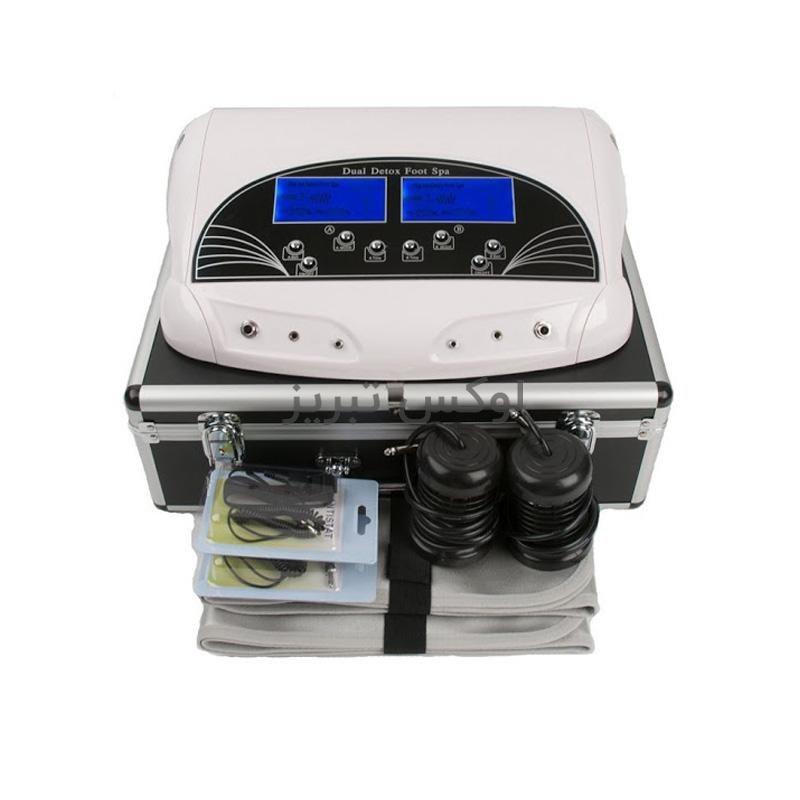 تصویر دستگاه سم زدایی بدن Foot Spa از طریق پا دو کاربره
