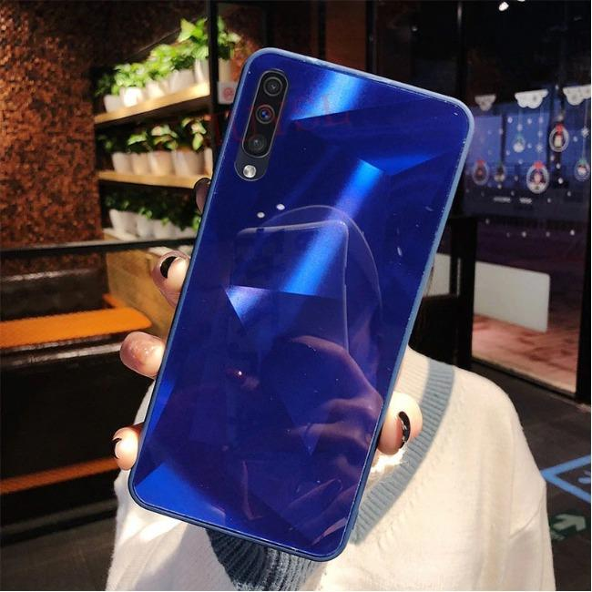 Diamond Case Samsung Galaxy A30 | قاب الماسی پشت گلس سامسونگ Diamond Case Samsung Galaxy A30