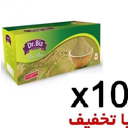 تصویر سبوس برنج قهوه ای 10 عددی