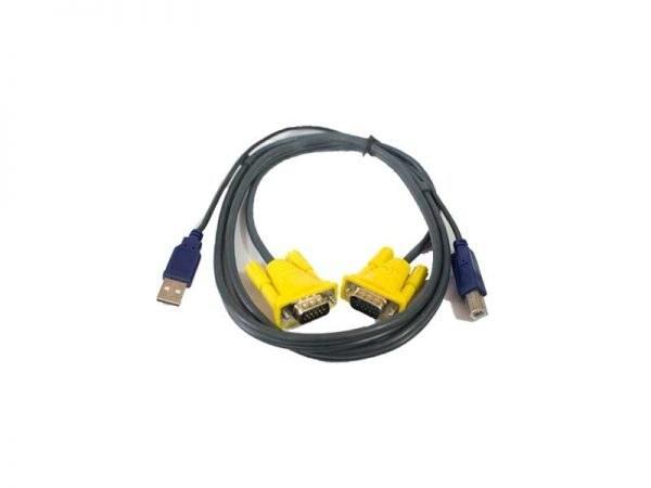 تصویر کابل ۱.۵ متری کی وی ام KVM cable 1.5m USB