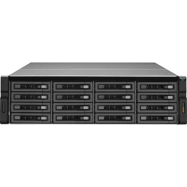 تصویر ذخیره ساز تحت شبکه کیونپ مدل REXP-۱۶۲۰U-RP بدون هارد دیسک QNAP REXP-1620U-RP 16-Bay Diskless NAS