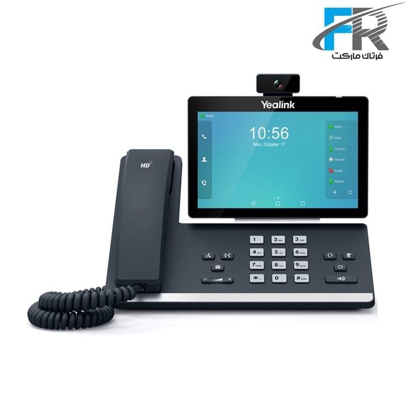 تصویر Yealink SIP-T58A With Camera IP Phone یالینک قیمت   به شرط خرید تیمی