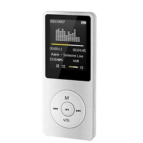 MP3 Player,Vanvler LCD Screen { Portable MP4 Player } FM Radio Video Games Movie Player