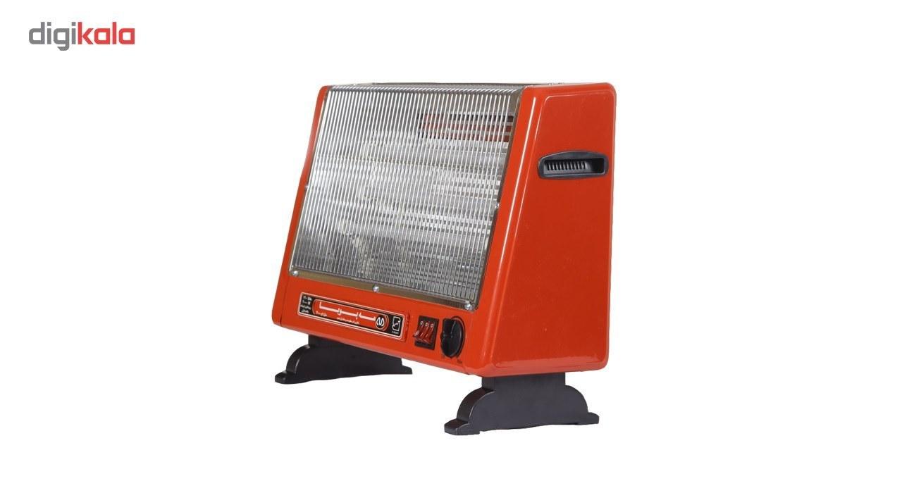 عکس بخاری برقی فن دارالمنت شیشه ای مه پویا مدل H-3000 Mahpooya H-3000 glass element Fan Heater بخاری-برقی-فن-دارالمنت-شیشه-ای-مه-پویا-مدل-h-3000 3