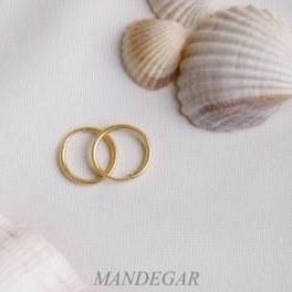 گوشواره طلا حلقه ای کوچک