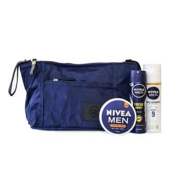پک بهداشتی آقایان نیوآ به همراه کیف | Nivea Sanitary Pack For Men With Bag
