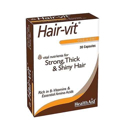 تصویر کپسول هیرویت هلث اید Health Aid Hair-Vit Capsule