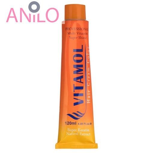رنگ موی ویتامول شماره 8-8 بلوند شکلاتی روشن حجم 120