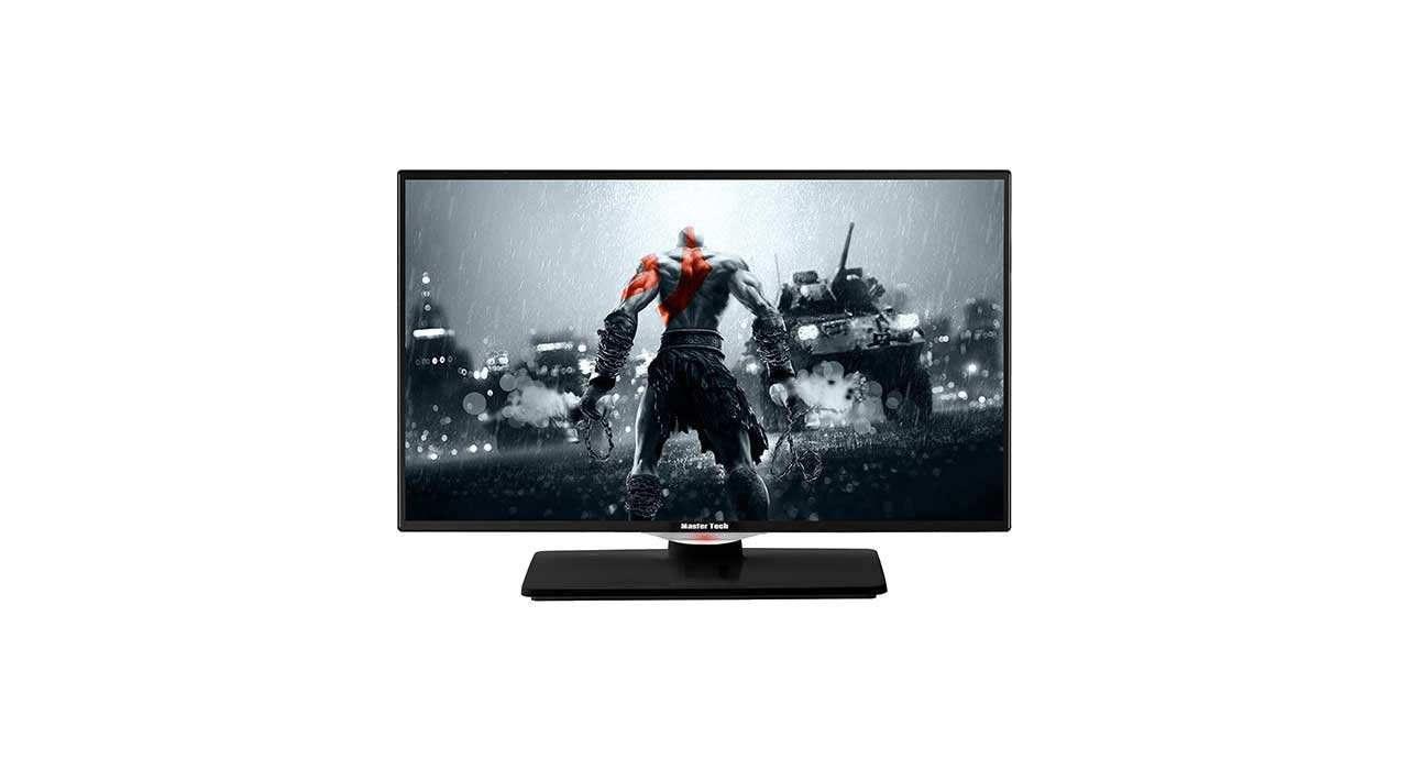 تصویر تلویزیون مسترتک مدل MT2402HD سایز 24 اینچ Master Tech MT2402HD TV 24 inch