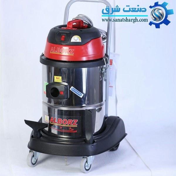 تصویر جارو برقی نیمه صنعتی البرز مدل RJA تک موتور آب و خاک