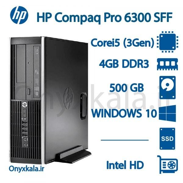 تصویر کامپیوتر دسکتاپ اچ پی مدل Compaq Elite 6300 با پردازنده i5 Compaq Elite 6300