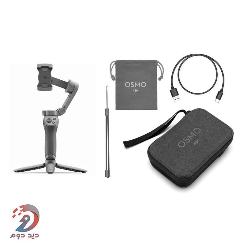 تصویر DJI Osmo Mobile 3 Combo پایه نگهدارنده گوشی دی جی آی مدل Osmo Mobile 3 Combo